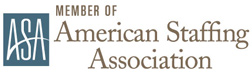 Member of the American Staffing Association